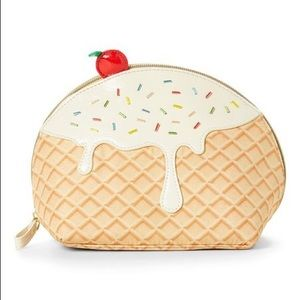 Betsy Johnson Ice Cream Cosmetic Bag